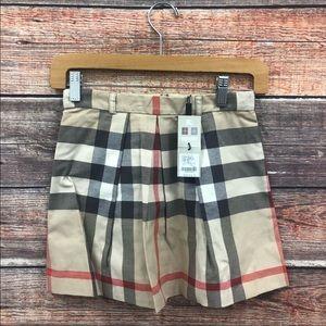 Burberry skirt kids girls size 12